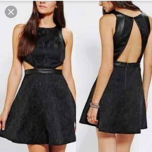 Silence + Noise Urban Outfitters Cutout Dress (0)